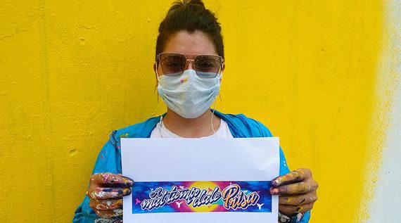 "Diana Segovia, la cuota femenina del festival ""Graficalia, colores de vida"""