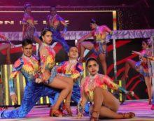 'Distrito 2020' el espectáculo que aperturó los shows del XV Festival Mundial de Salsa