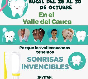 'Sonrisas Invencibles' durante la Semana de la Salud Bucal en el Valle del Cauca