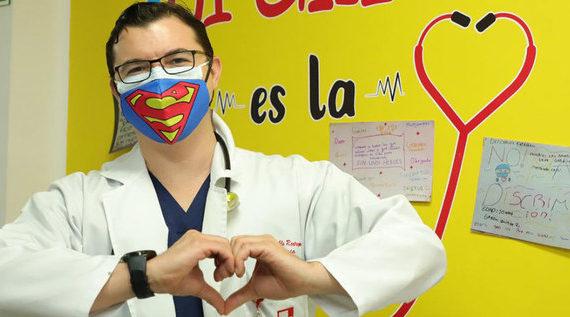 Semilleros de Cultura Ciudadana enviaron emotivo mensaje al personal médico del HUV