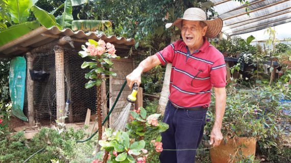 Don Eusebio, un campesino cultivador de esperanzas en 'Frutos de mi Vereda'