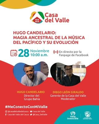 Hugo Candelario con la energía del Pacífico en #MeConectoConMiValle