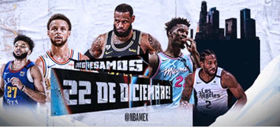 Regresa la emoción del mejor baloncesto del mundo con la NBA