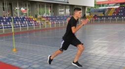 Escuela Nacional del Deporte recibió a 223 jóvenes de todo el país en el campamento PAD de Pista